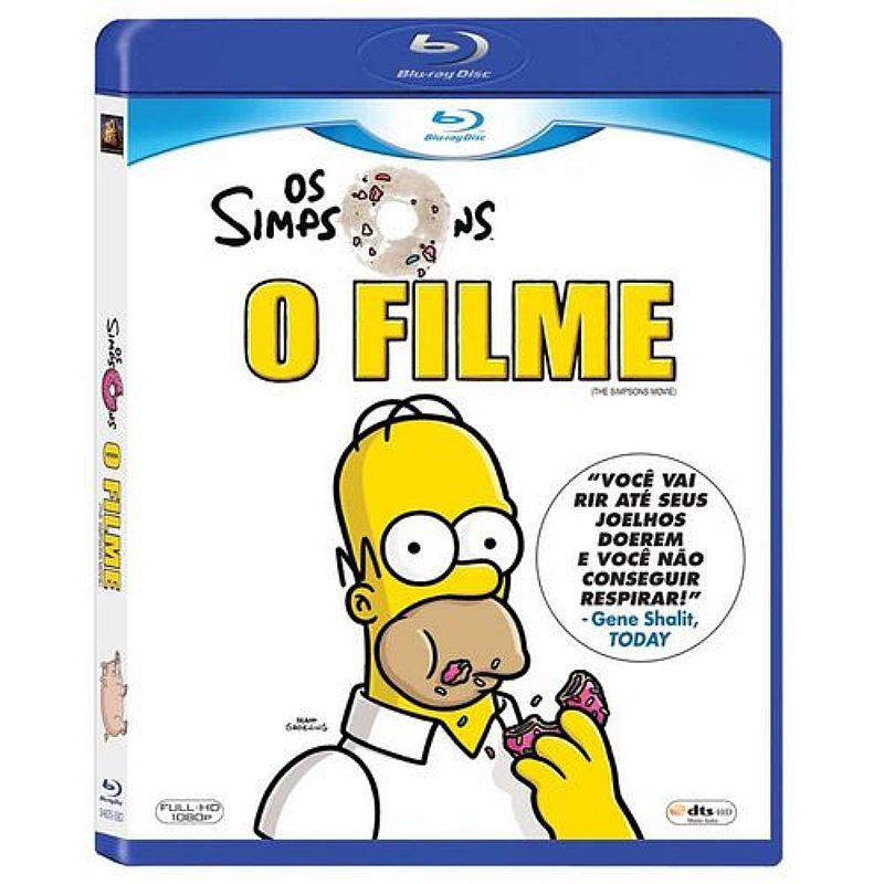 Blu-ray os simpsons,  o filme - produto original - nao e copia pirata! nao é produto digital!
