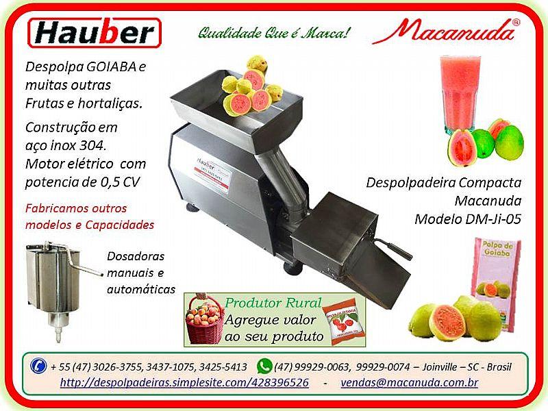 Despolpadeira de frutas dm-ji-05 macanuda