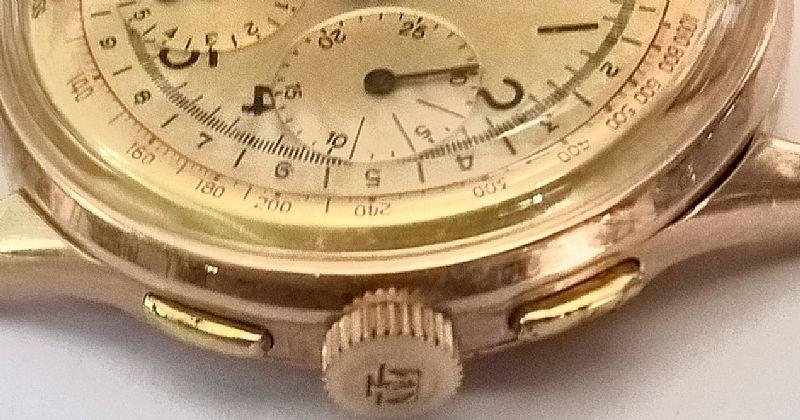 effd3487fce Relogio tissot modelo cronografo em ouro Foto 2 Relogio tissot modelo  cronografo em ouro ...