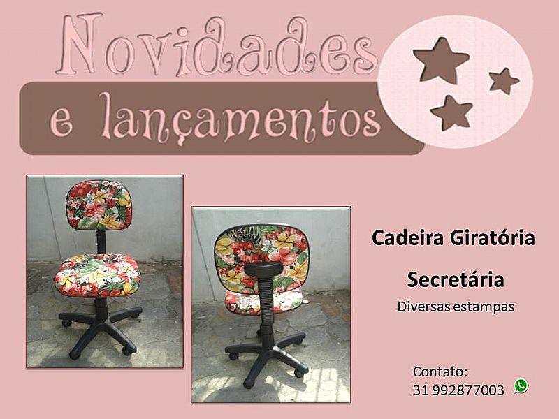 Cadeira Secretaria Giratoria