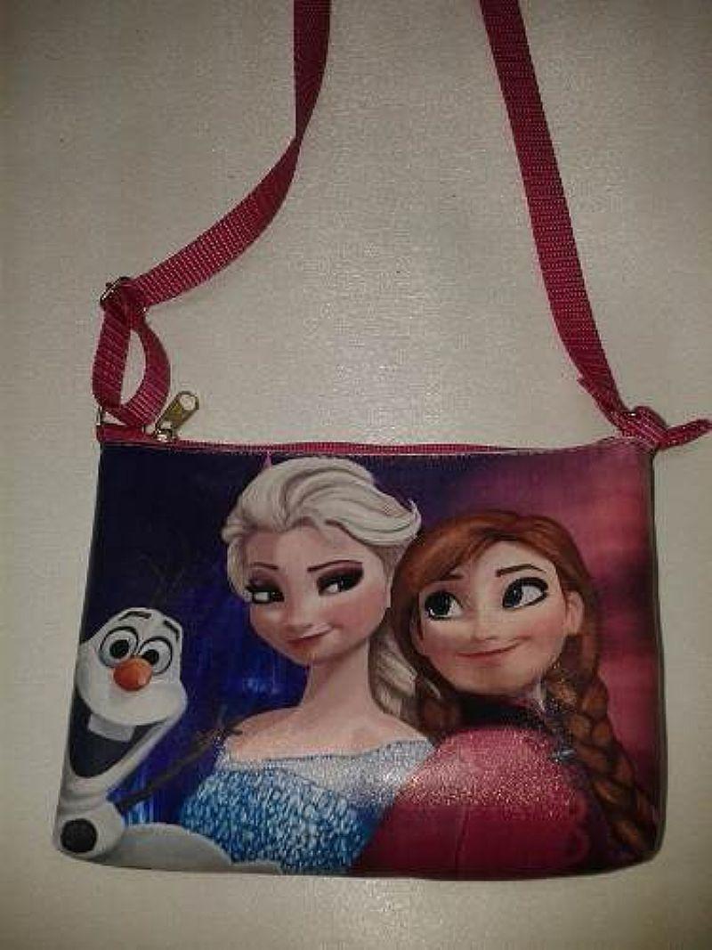 Linda Bolsinha Feminina Infantil Frozen