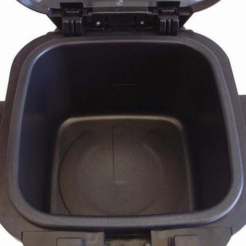 Fritadeira Eletrica Mallory Fry Inox 2 Litros Preta