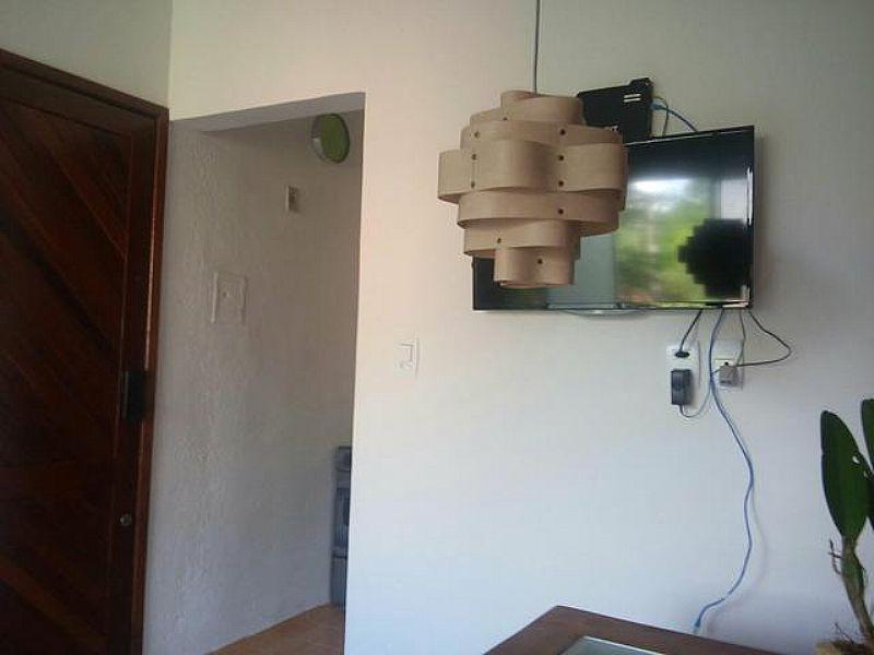 Lustre artesanal de teto