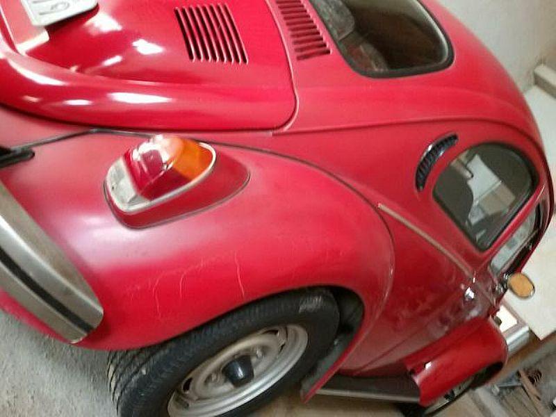 Fusca 1300 Vermelho 1975/1975