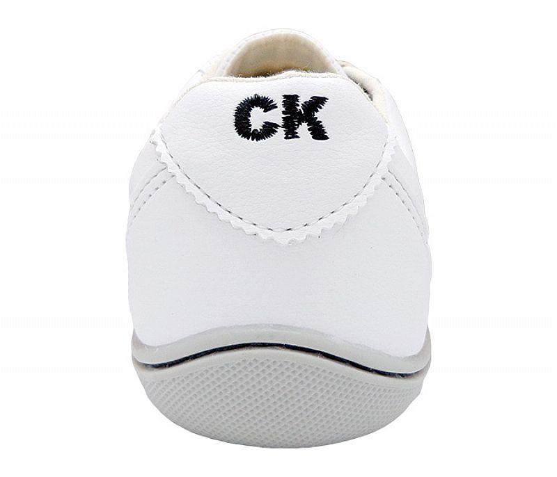 Sapatenis Calvin Klein Branco Promocao