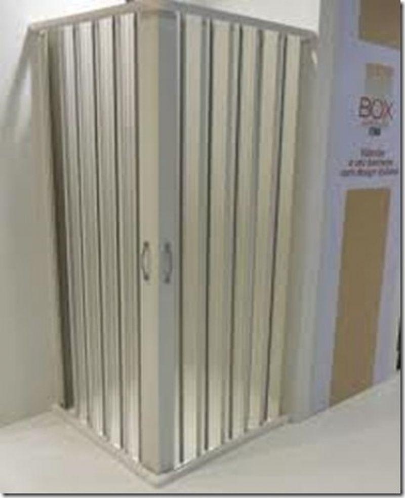 Box de Correr Plastico Branco Kit 1, 85x1, 00m