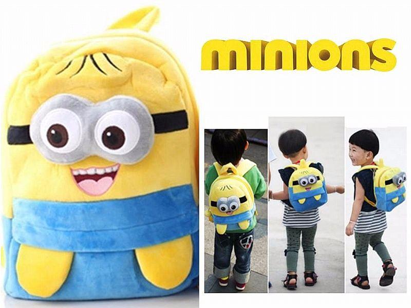 Mochila Minions Infantil Crianca Escolar Minion Bolsa