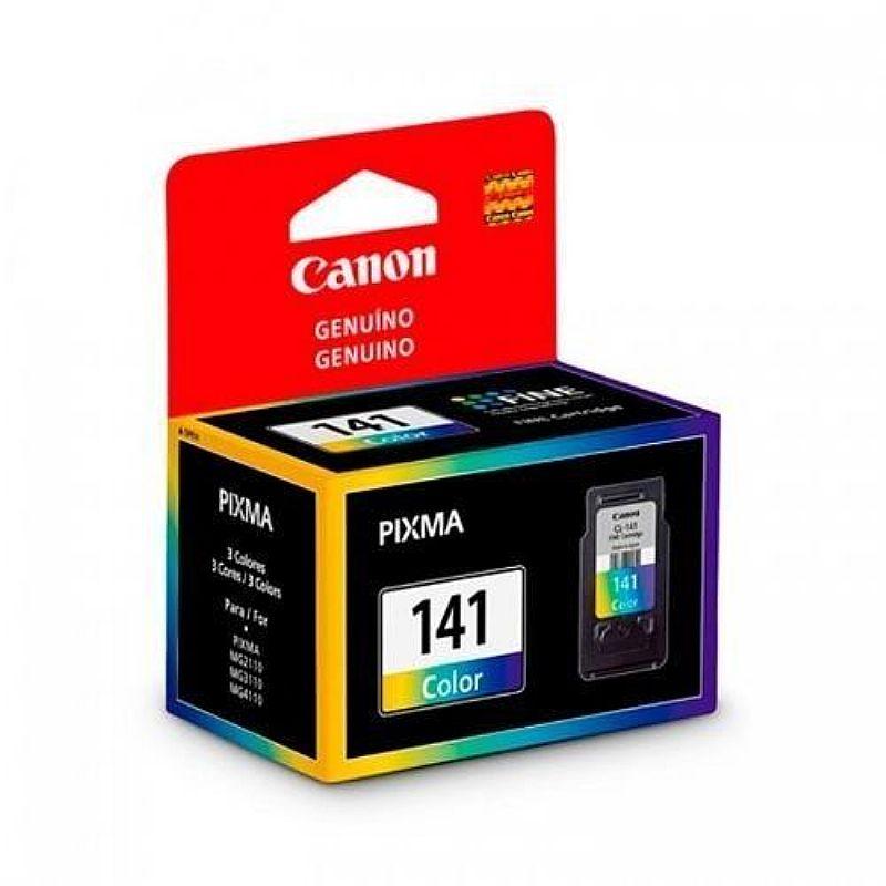 Cartucho Original Impressora Canon Cl-141 Colorido Nf