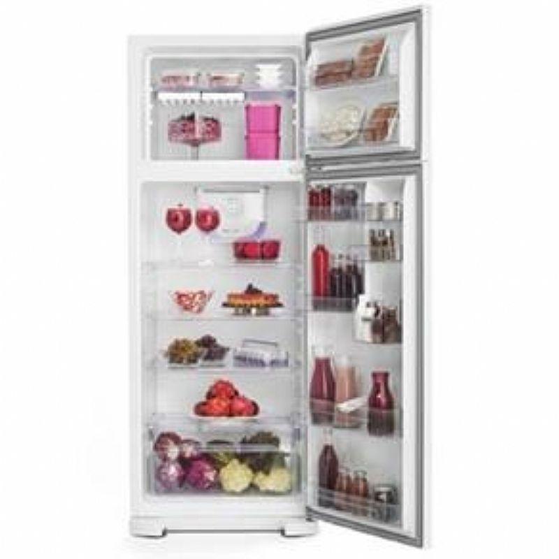 Refrigerador Electrolux Frost Free Dfx39 310l Inox 110v