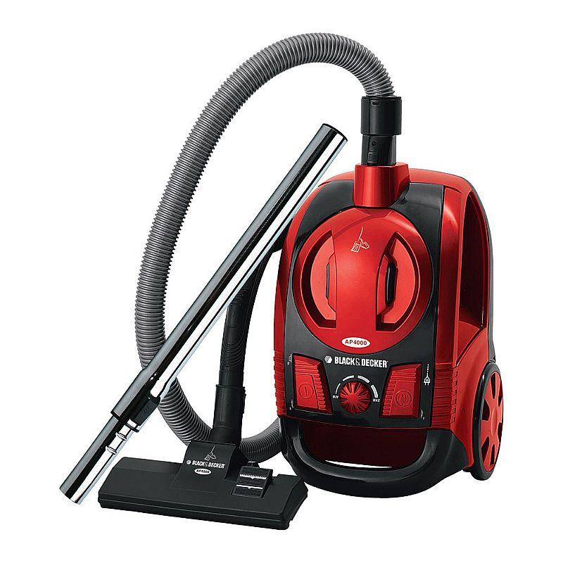 Aspirador De Po Black&decker Ap4000 Vermelho - 1.600w