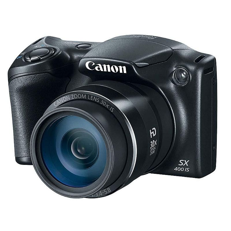 Camera Digital Canon Powershot Sx400is Preta 16.0mp