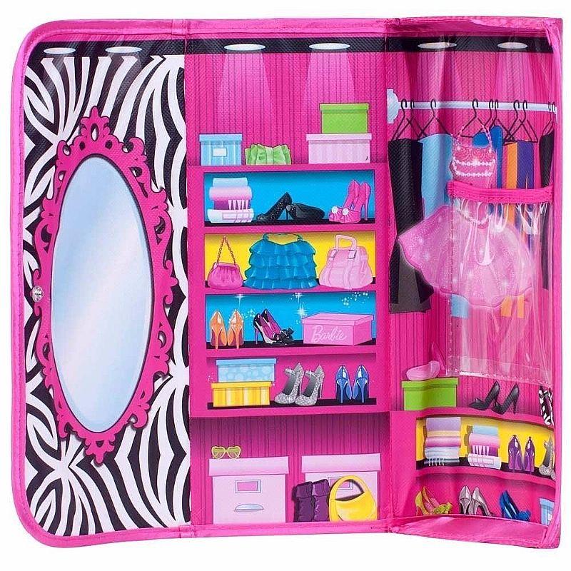 Bolsa E Closet De Boneca Barbie Fun