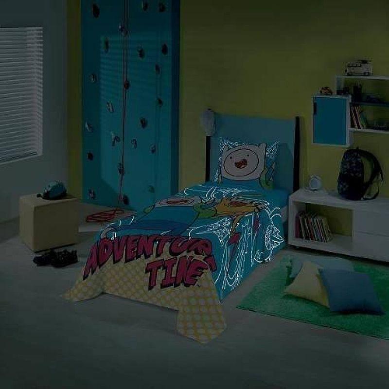 Jogo Cama 2pcs Infantil Hora Da Aventura Adventure Time