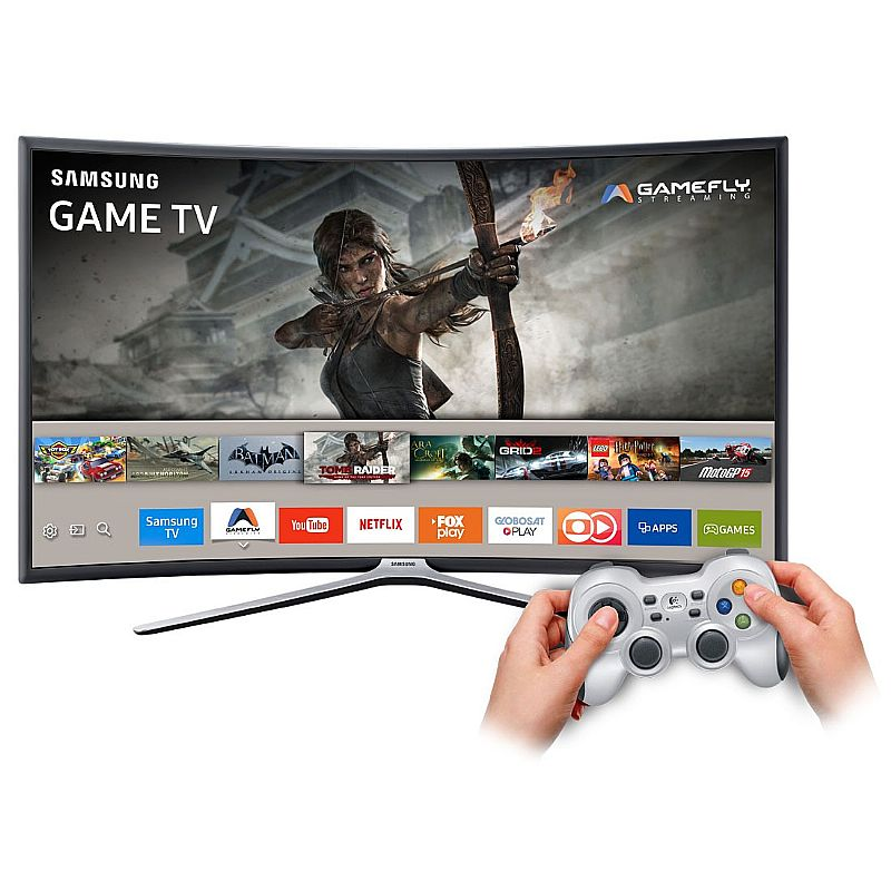 Smart Tv Games Led 49 Samsung Full Hd Curva Wi-fi-49k6500
