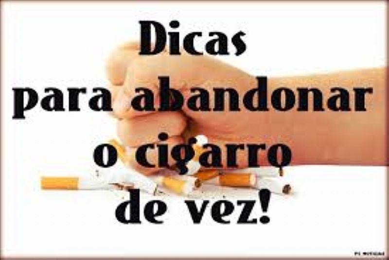 Pare de fumar sem segredos.