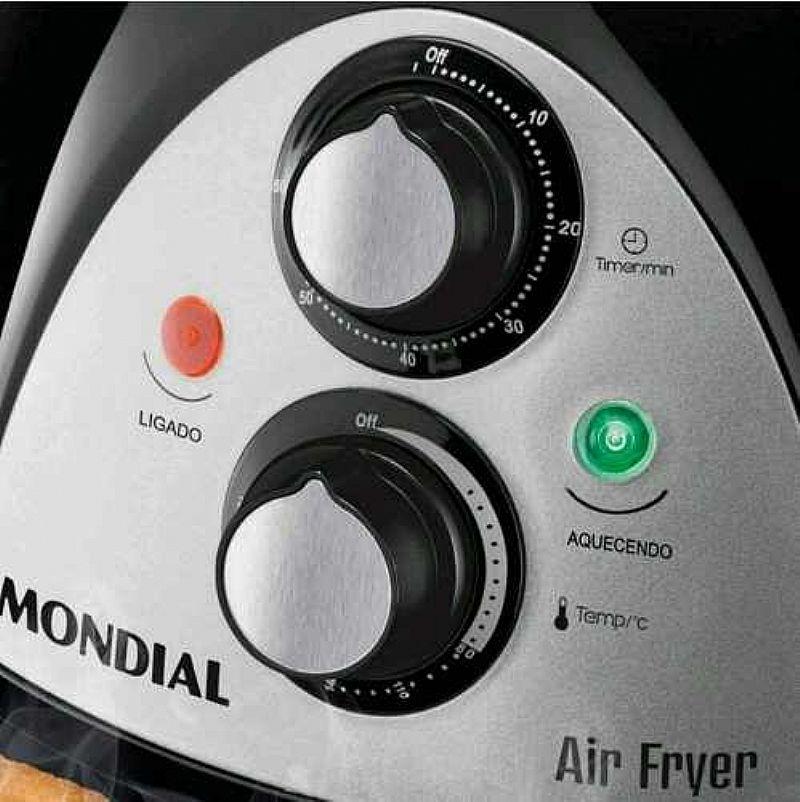 Panela Fritadeira Sem Oleo Mondial Air Fryer Af-03