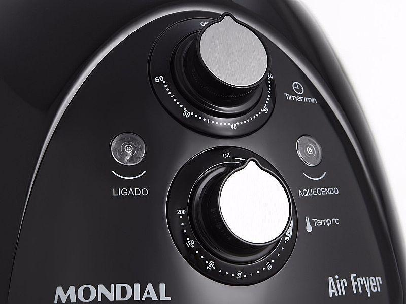 Fritadeira Air Fryer Mondial Af-05 Com Timer