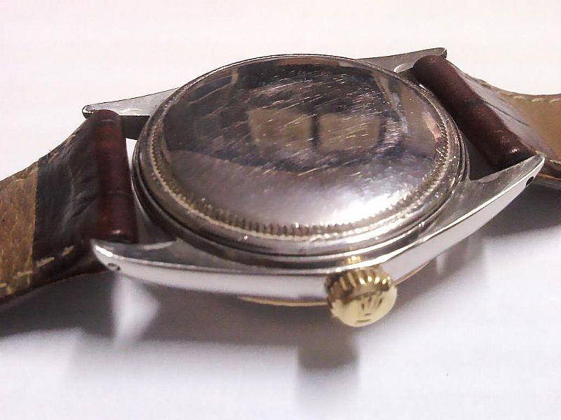 06e2c31c7db ... Foto 2 Relogio Rolex modelo 1600 aco e ouro mostrador romano ...