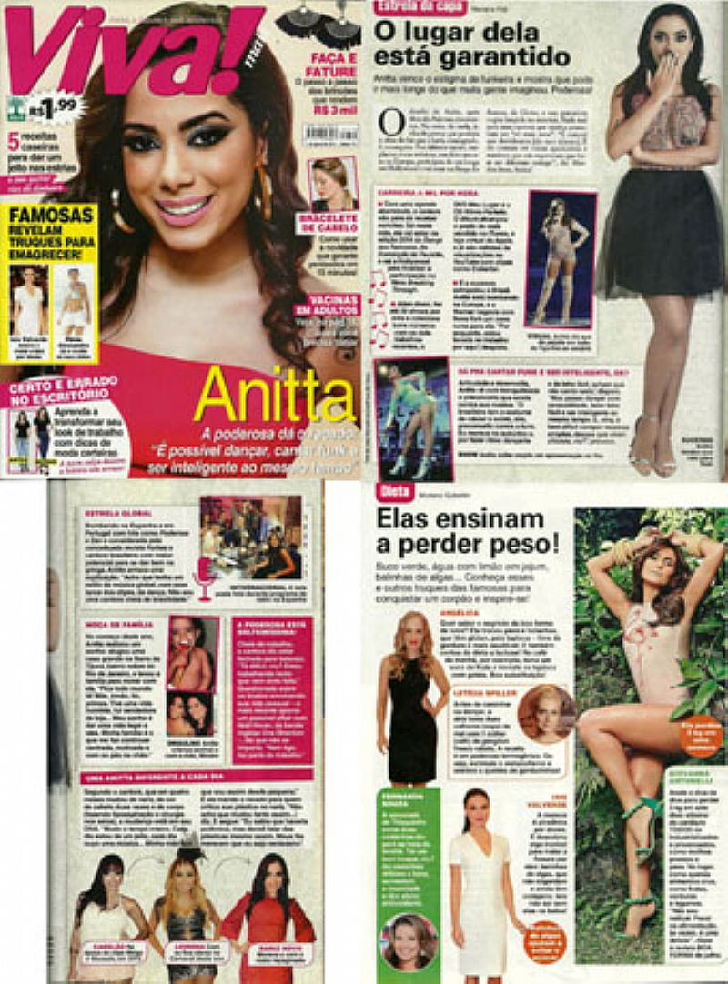 Anitta,   A Poderosa da o Recado,   Revista Viva Mais nº 774