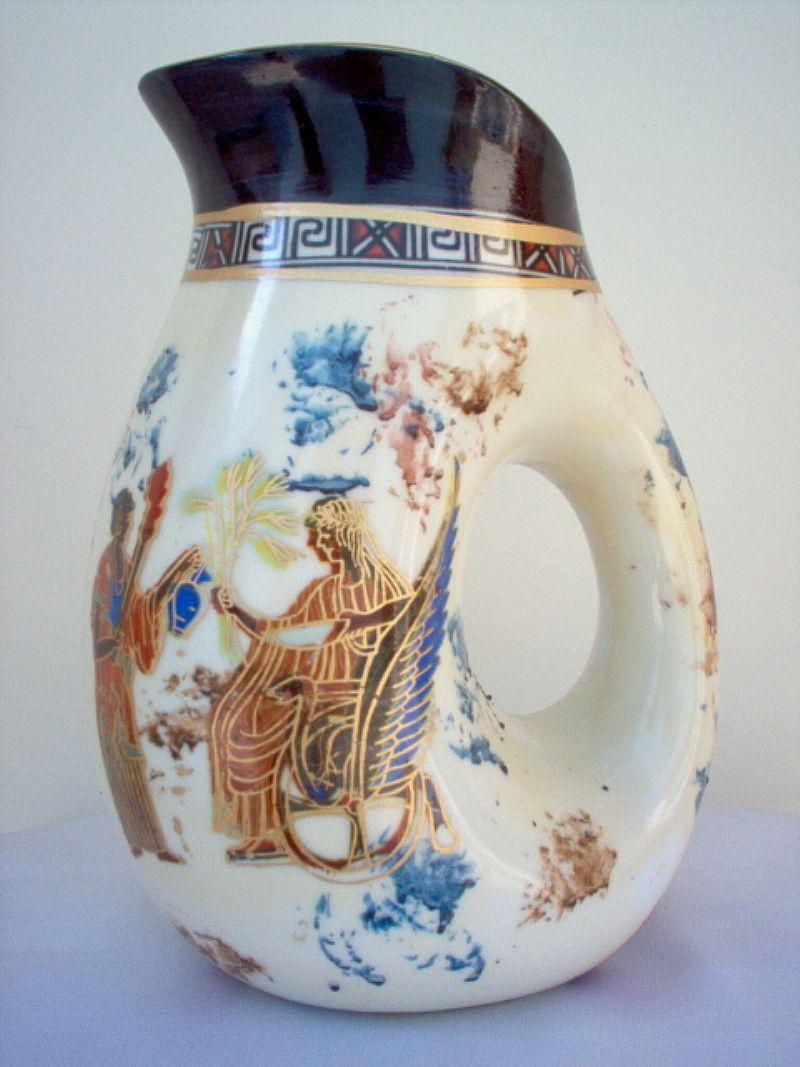 Vaso Jarro Porcelana rustica Chinesa Novo otimo para presente