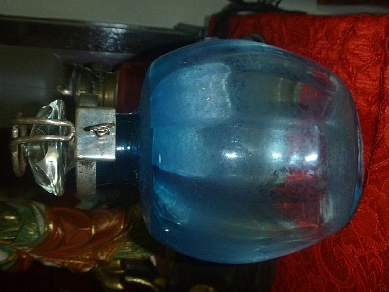 Antuga e rara Garrafa para bebida com fechadura