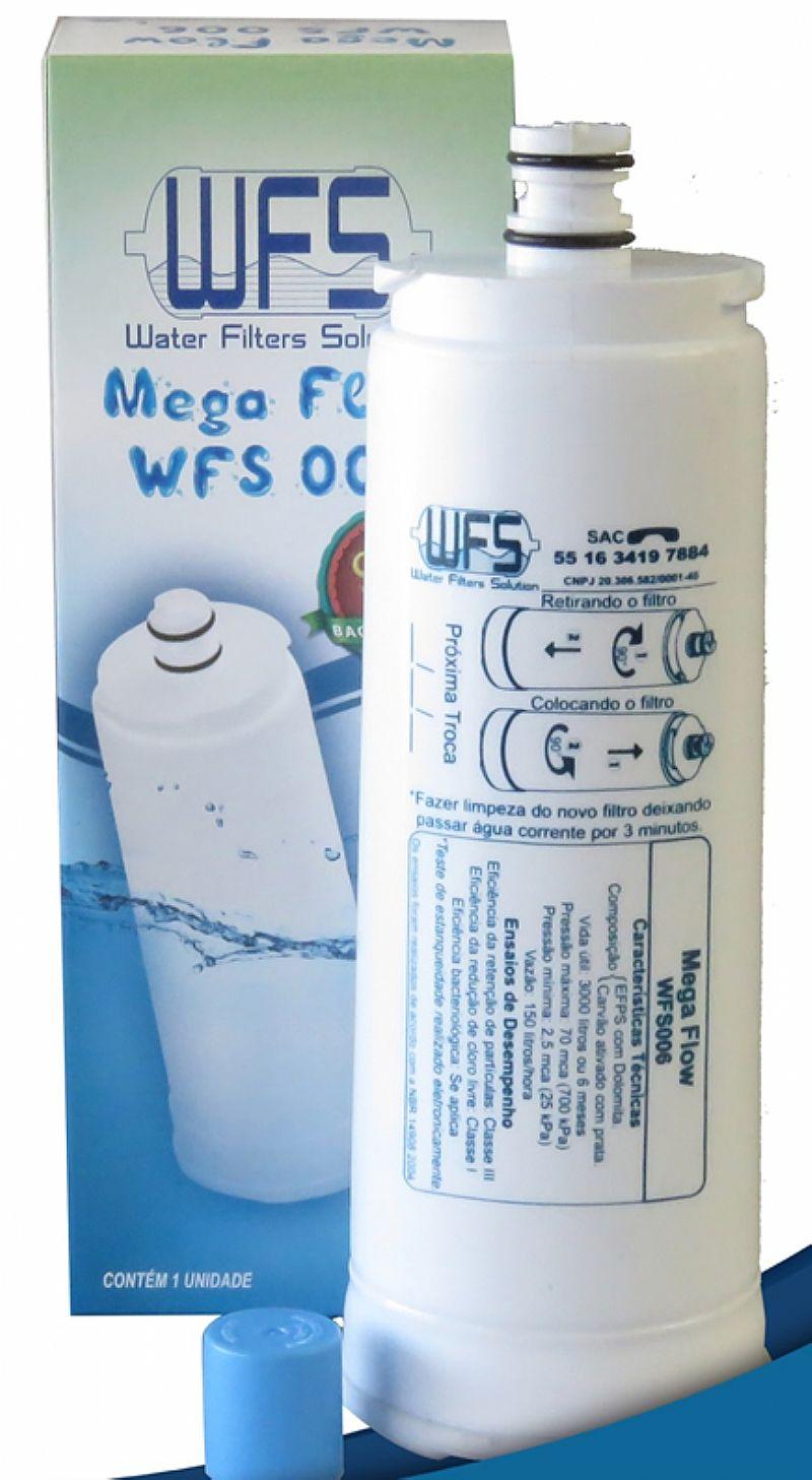 Refil filtro purificador de água ibbl fr600 / atlantis