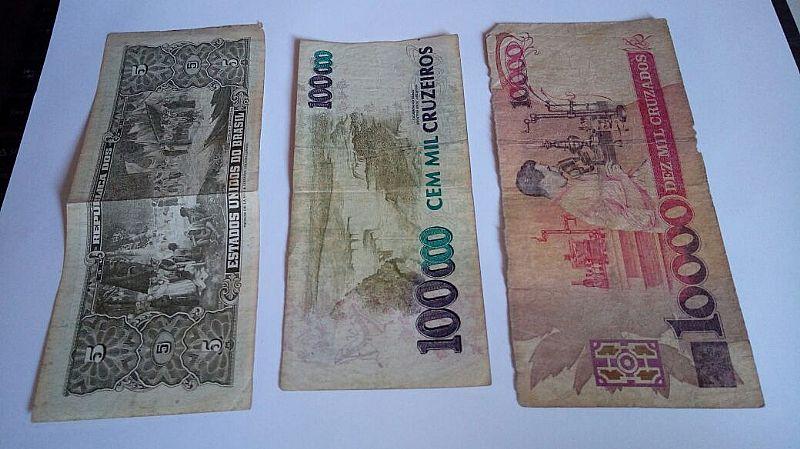 Notas e Cédula de Dinheiro Antigo a Venda