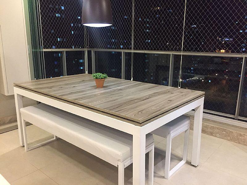 Mesa de sinuca e jantar modern