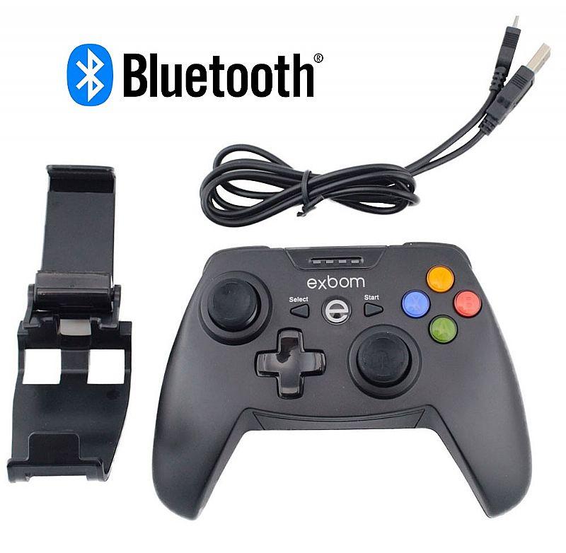 Cotrole de jogos bluetooth celular smartphone tablet xbox pc