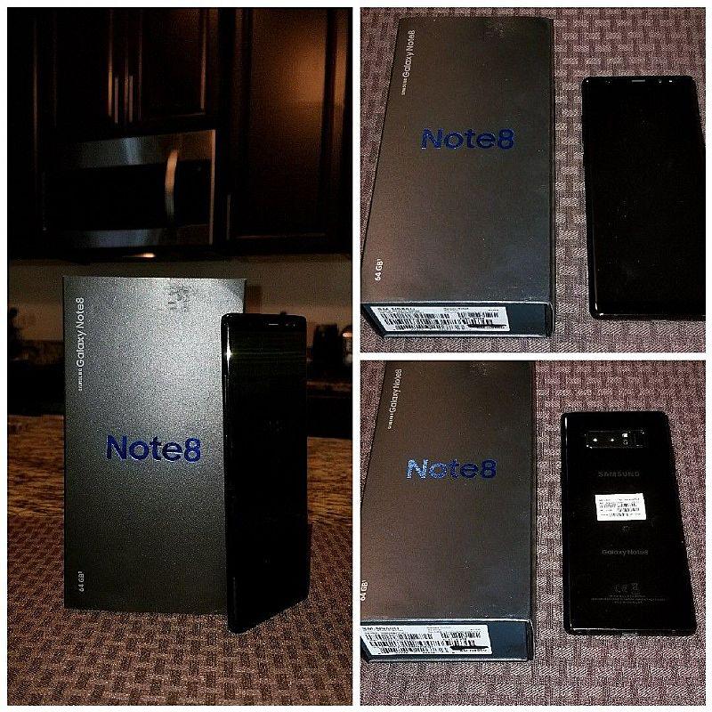 Samsung galaxy note8 6gb ram sm-n950 64gb (whatsapp chat: 44 (745) 2057396 )