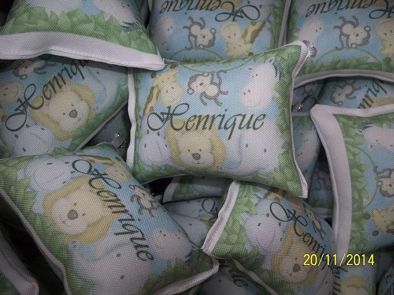 20 almofada chaveiro lembrancinha maternidade