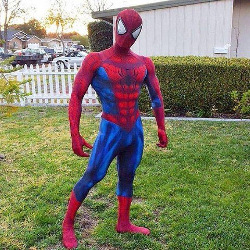 Fantasia homem aranha de luxo 3d - cosplay movies