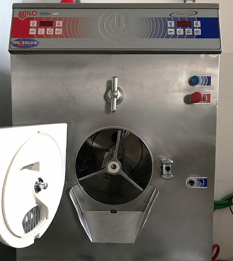 Maquina bravo 610 italiana producao sorvete gelato cap 10l