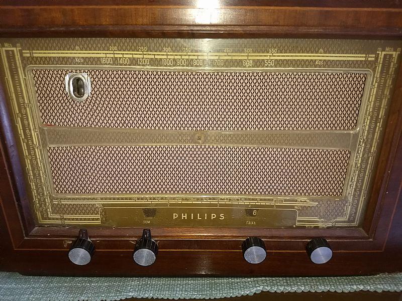 Radio philips valvulado br639 6 faixas dec 30