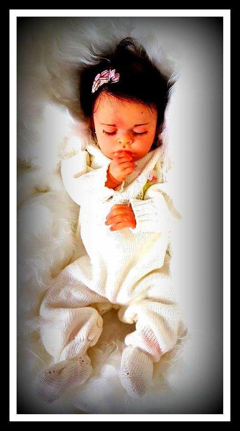 Linda boneca reborn  gaby