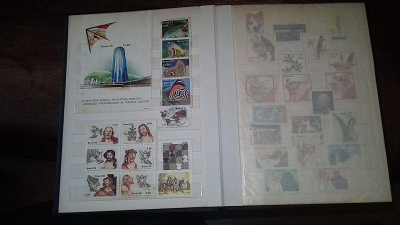 Selos de diversos paises,   envelopes comemorativos