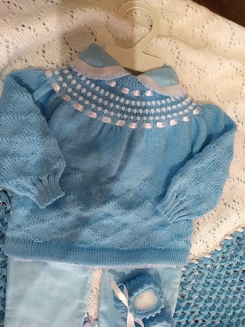 Saida da maternidade bebe rn trico