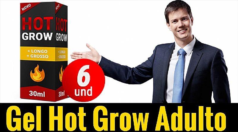 Gel hot grow adulto