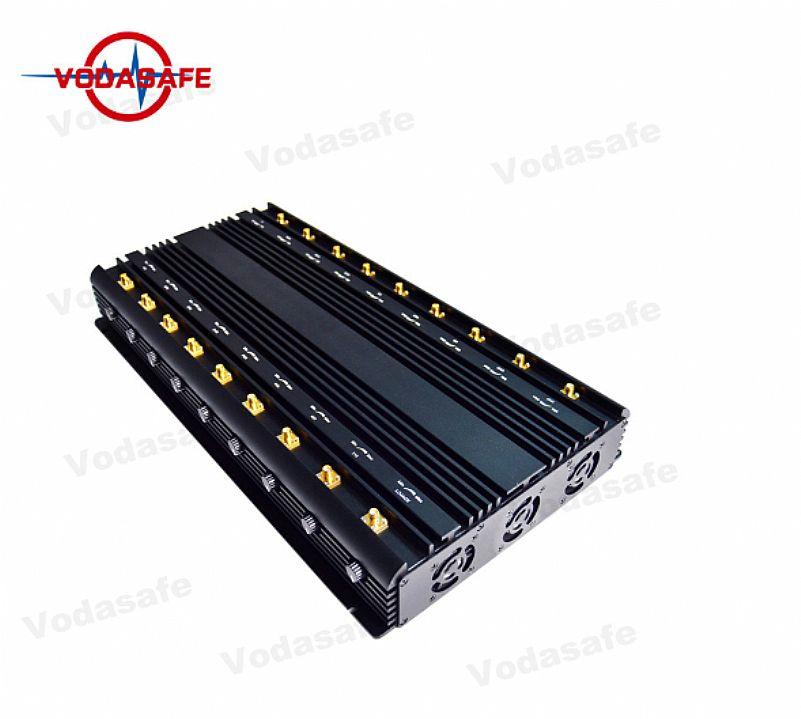 Bloqueador de celular / escutas / comunicacoes 18 antenas (base) x18 47watts
