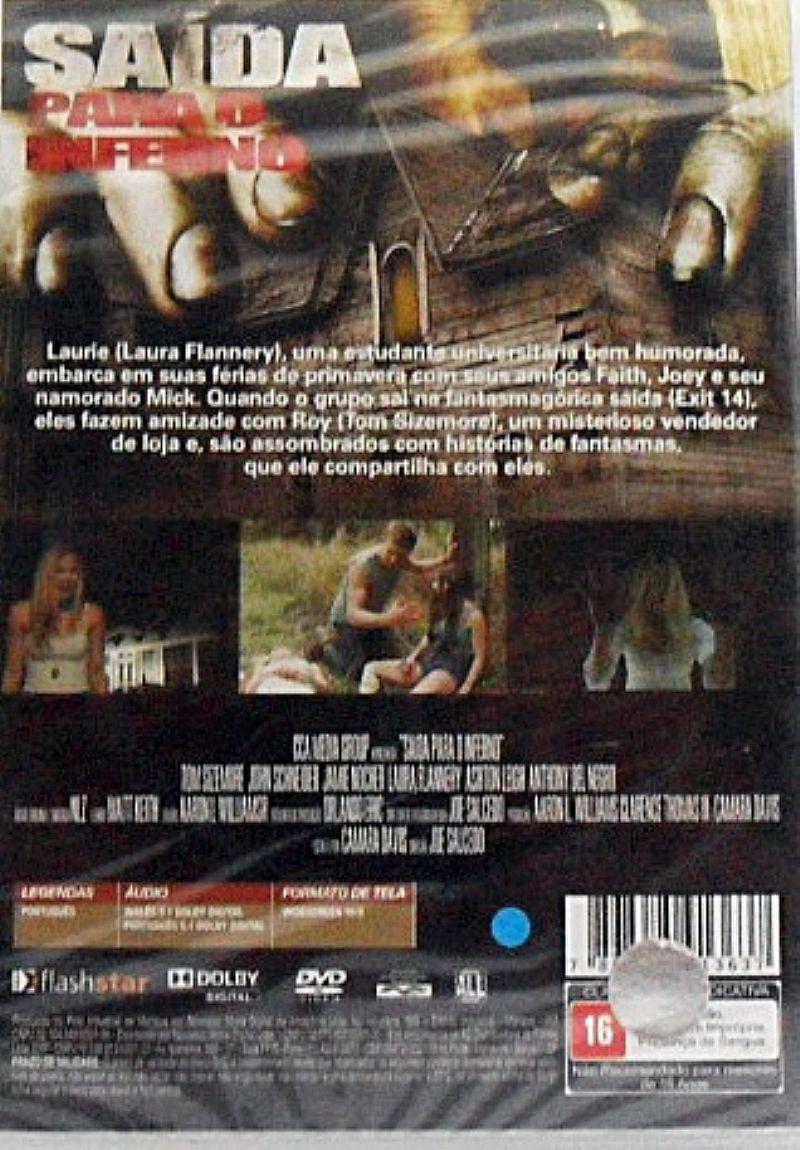 Dvd saida para o inferno