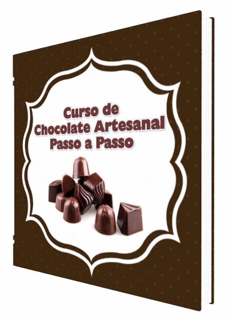 Curso de chocolate artesanal passo a passo