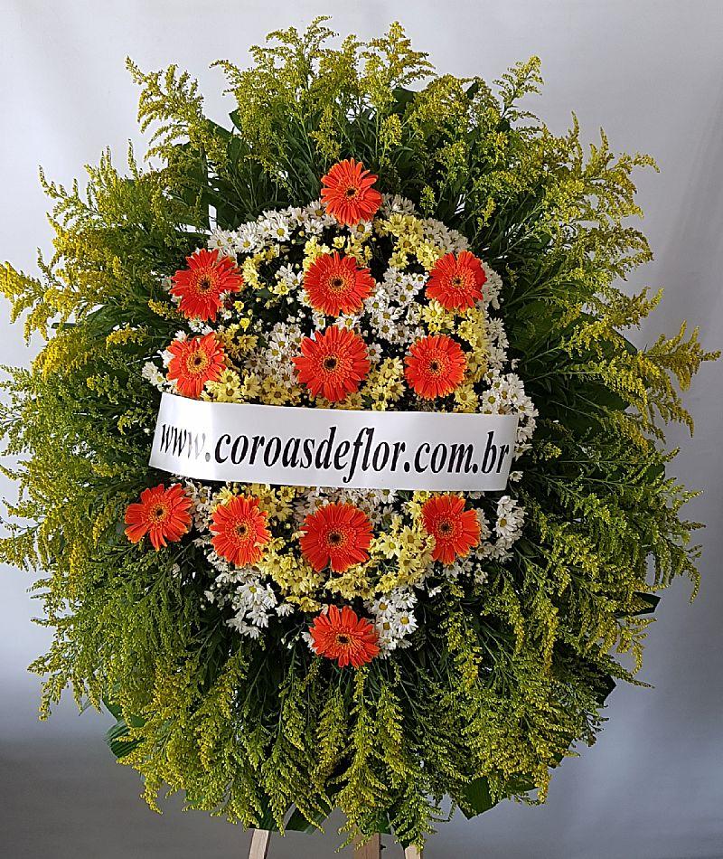 Coroa de flores nº 1   parque renascer