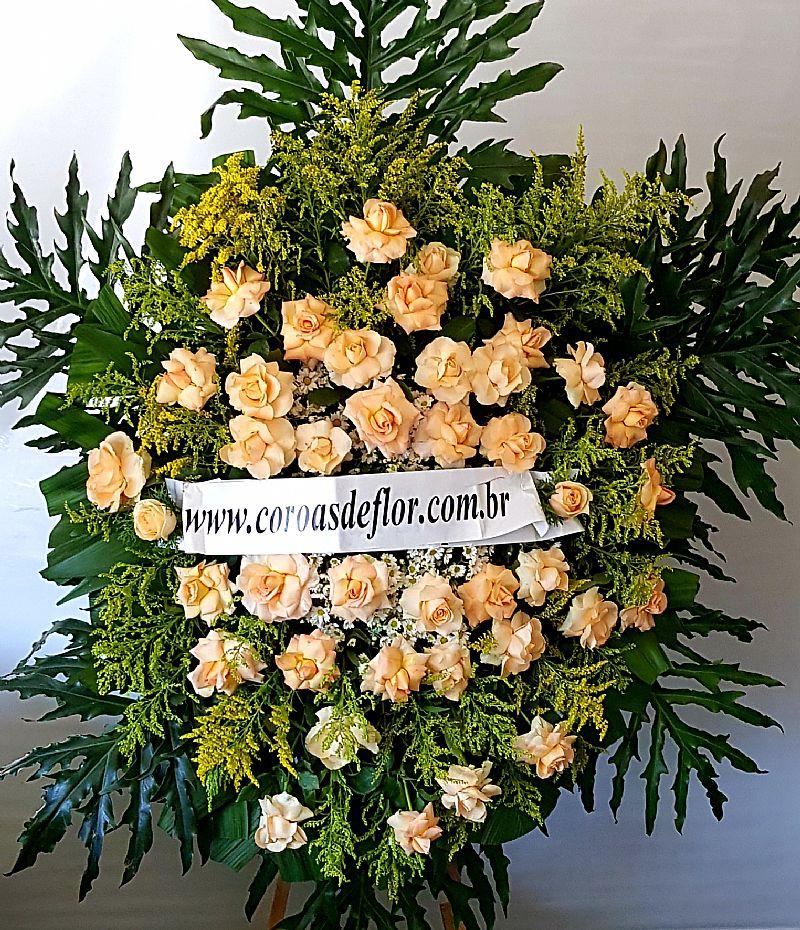 Entrega coroa de flores velorio do cemiterio consolacao floricultura bh