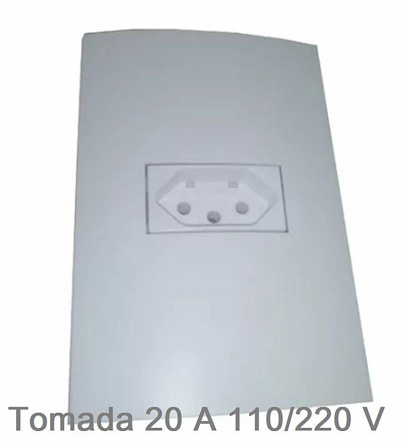 Kit 03 tomada 20 amperes novo abnt p/ forno,  micro ondas 110/220 v
