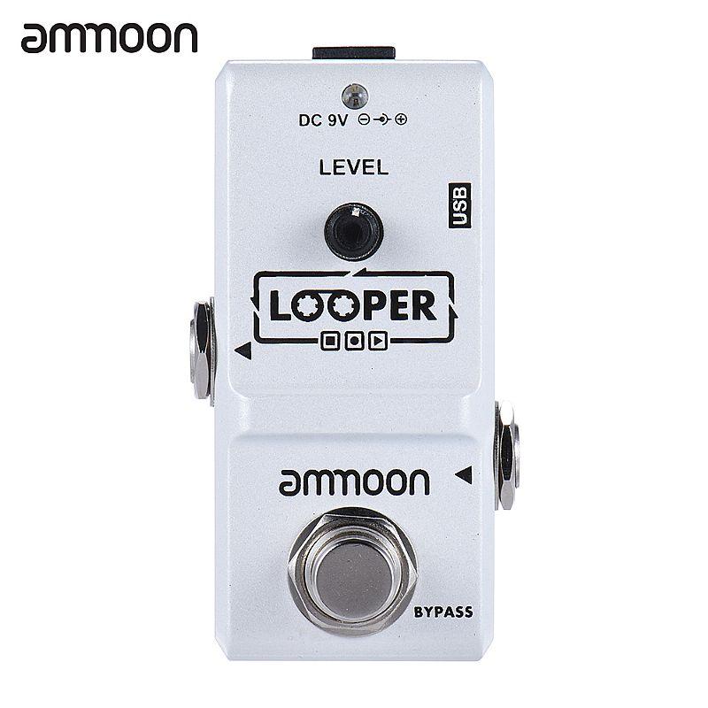 Pedal looper usb ammoon original novo
