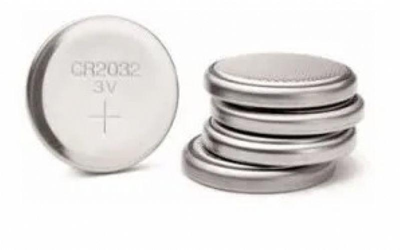 Bateria pilha cr2032 3v lithium kit 50 unidades cartela placa mae