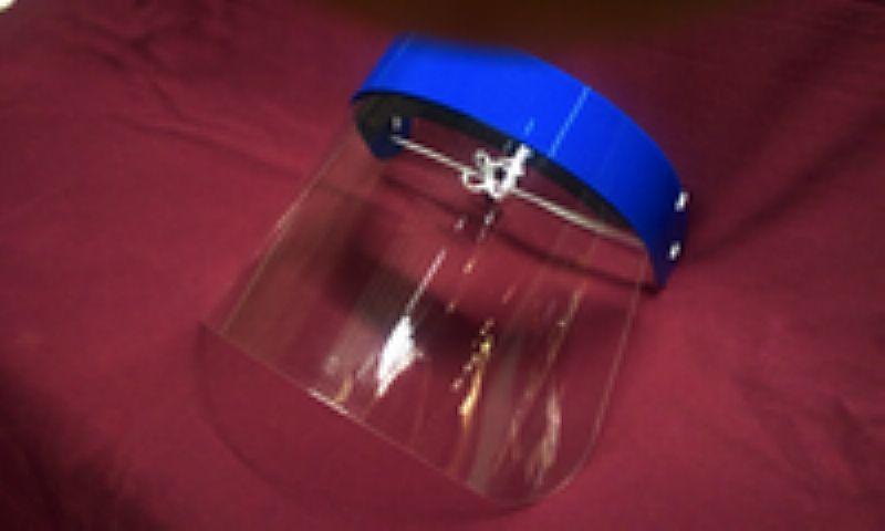 Mascara de protecao facial - acrilico