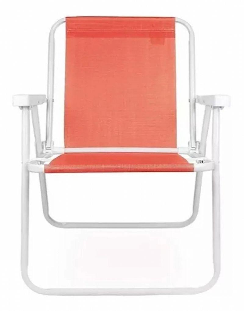 Cadeira praia piscina camping varanda sannet mor 110kg marca mor modelo sannet
