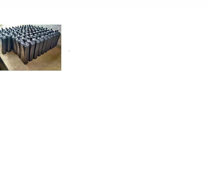 Sacos para silagem preto 51x1, 10 - 200 micras com 50 unidades  marca brusplastic modelo preto