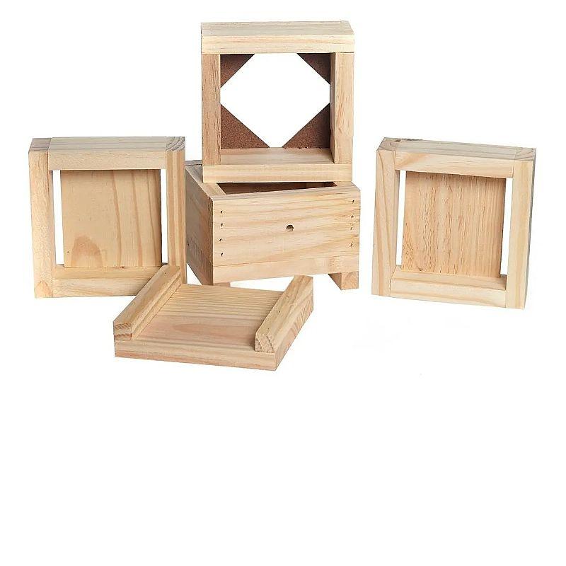 Caixa para abelhas jatai   brindes promocao       marca loja das abelhas     material madeira